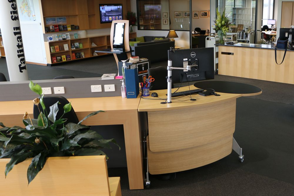 GLO 1600 blends with the exiting interior furniture at Newington College.