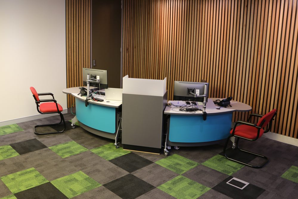 GLO 1600's are teamed with our Cash / Eftpos Module at Georges River Council's Kogarah Library.