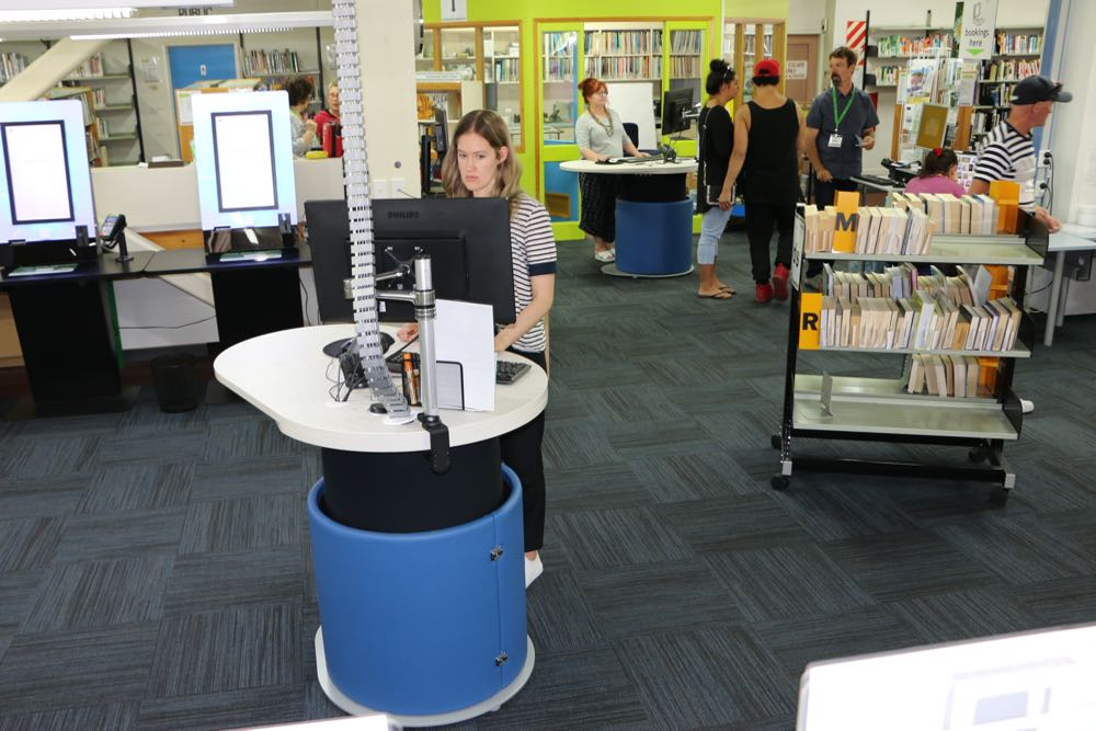 YAKETY YAK 1200s at Marlborough District Library (Blenheim).