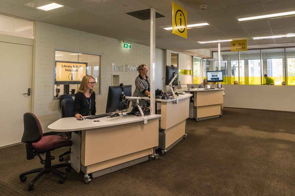 Four MAXX 1675's have been installed to create a more flexible and adaptable library environment, at Flinders University, Adelaide.