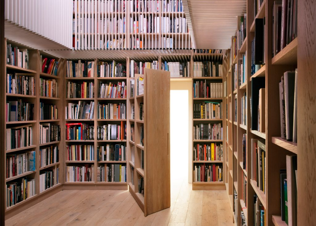 Secret Library In Converted English Barn