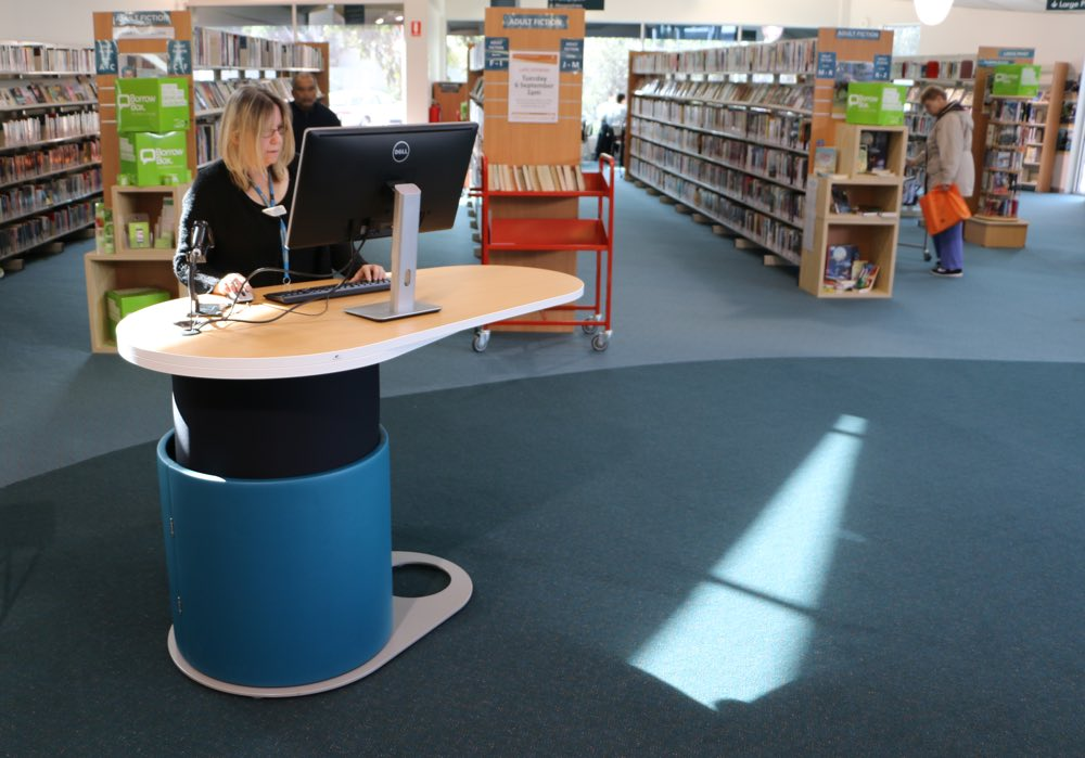 YAKETY YAK 1500 at Frankston City Council's Carrum Downs Library.