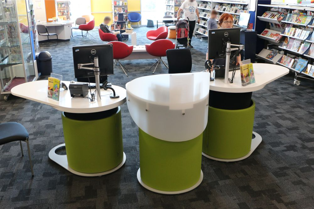 YAKETY YAK Work Module teams well with YAKETY YAK 1500's at Logan City Council's Hyperdome Library, QLD.