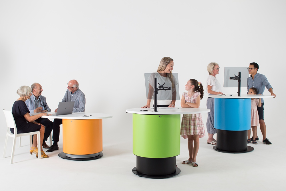 YAKETY YAK pods allow you to get alongside your customer and supports a welcoming environment in your library.