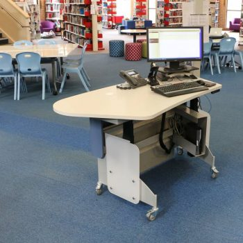 Height adjustable MAXX 1675 adapts easily to any space or application.